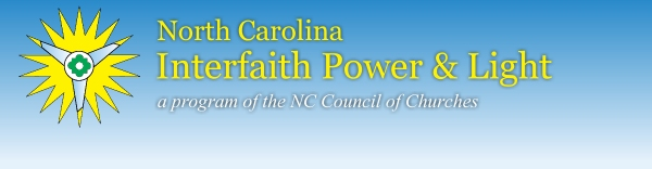 North Carolina Interfaith Power and&lt;br /&gt;<br />                                             Light