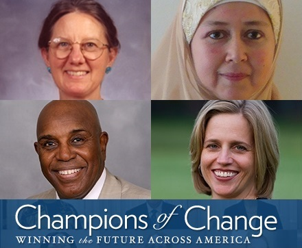 Interfaith Power & Light Members Sweep White House Champions of Change Honors