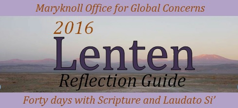 Maryknoll OGC Lenten Reflection Guide logo