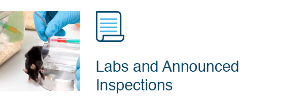 Labs and Announced Inspection