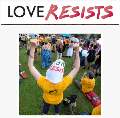 Love Resists rally