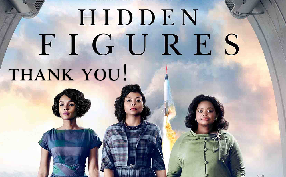 Hidden Figures Screening, December 2016