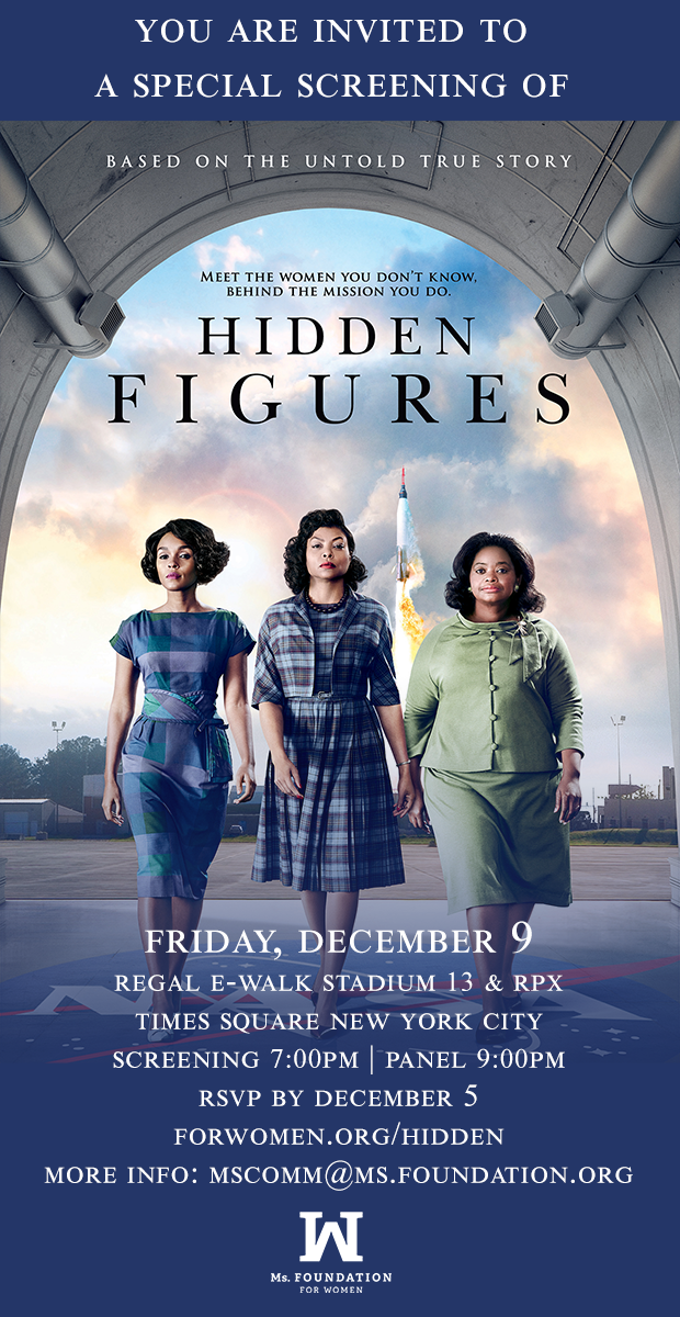 Ms. Foundation special screening of Hidden Figures