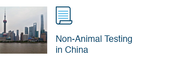 Non-animal tests in China