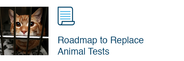 Roadmap to Replace Animal Tests