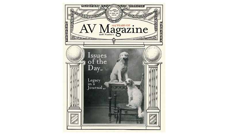 125 Years of AV Magazine